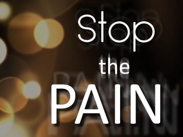 Stop Pain with CBD